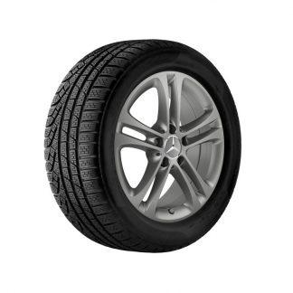Mercedes-Benz Winterkompletträder Satz, CLA, A-Klasse, B-Klasse, 17 Zoll, 5-Doppelspeichen-Design