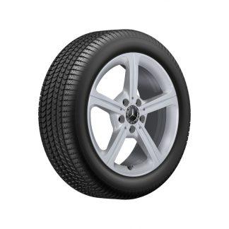 Mercedes-Benz Winterkompletträder Satz, W247, C118, W177, 17 Zoll, 5-Speichen-Design