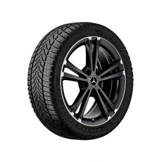 Mercedes-Benz Winterkompletträder Satz, X118, W247, W177, 18 Zoll, 5-Doppelspeichen-Design