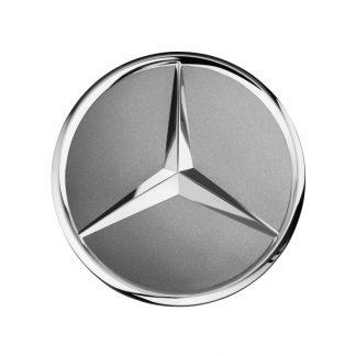 Mercedes-Benz Radnabenabdeckung titangrau, Stern erhaben