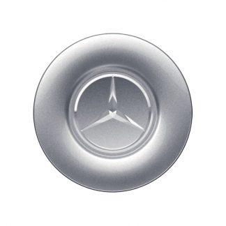 Mercedes-Benz Radnabendeckel silberfarben, großflächig für S-Klasse