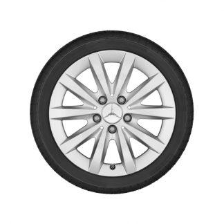 Alufelge Mercedes-Benz, A-Klasse, B-Klasse, CLA, 16 Zoll, 10-Speichen-Design