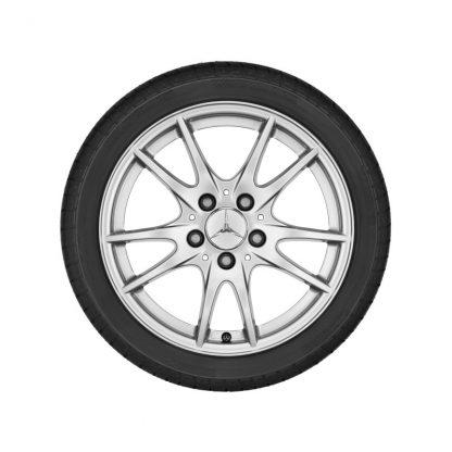 Mercedes-Benz Alufelge 16 Zoll, W176, W246, C117, X117, 5-Doppelspeichen Design