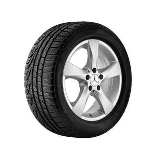 Mercedes-Benz Winterkompletträder Satz, V-Klasse, Vito, 17 Zoll, 5-Speichen Design