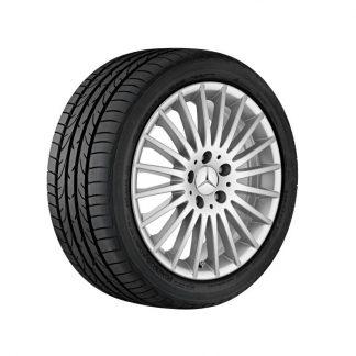 Mercedes-Benz Winterkompletträder Satz, Vielspeichen-Design, V-Klasse, Vito, 17 Zoll