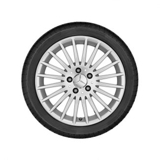 Mercedes-Benz Winterkompletträder Satz, V-Klasse, Vito, 17 Zoll, Vielspeichen-Design