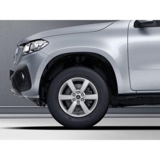 Mercedes-Benz Winter Kompletträder Satz, 6-Speichen-Design, X-Klasse, 17 Zoll, Pirelli, mit RDC