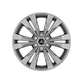 Mercedes-Benz X-Klasse 6-Doppelspeichen-Alufelge, 18 Zoll
