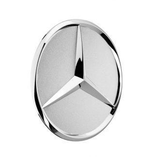 Mercedes-Benz Radnabendeckel sterlingsilber, Stern erhaben