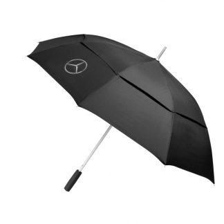 Mercedes-Benz Regenschrim schwarz
