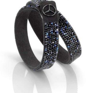 Mercedes-Benz Armband Damen, Black Edition