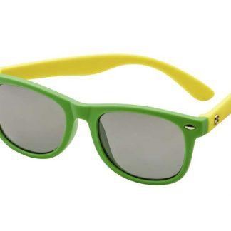 Sonnenbrille Kinder, grün/gelb