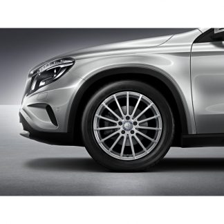 Mercedes-Benz Winter Kompletträder Satz ,Vielspeichen-Design, vanadiumsilber metallic, GLA, 18 Zoll