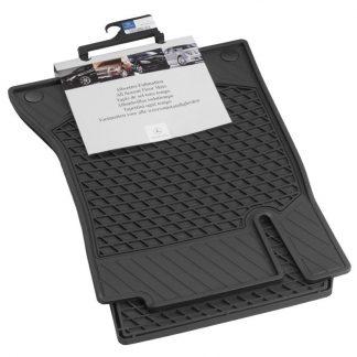 Allwetter Fußmatten CLASSIC, Fahrer-/Beifahrermatte, 2-teilig, A-Klasse, B-Klasse, CLA, GLA