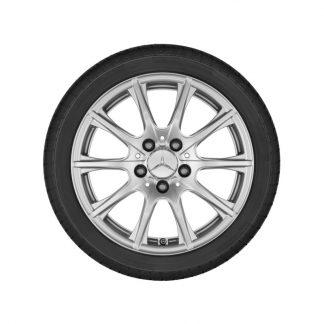 Mercedes-Benz 10-Speichen-Alufelge, C-Klasse Modelle, 16 Zoll