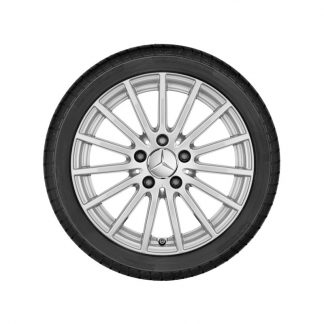 Mercdes-Benz Vielspeichen-Alufelge, C-Klasse Modelle, 16 Zoll