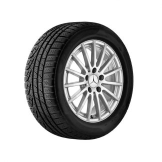 Mercdes-Benz Vielspeichen-Alufelge, vanadiumsilber, C-Klasse Modelle, 16 Zoll