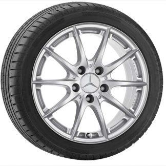 Mercedes-Benz Sommerkompletträder Satz, C-Klasse C204, S204, W204, 10-Speichen Design,16 Zoll