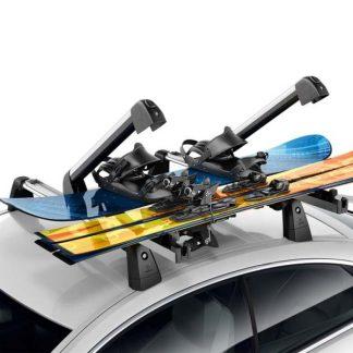Ski- und Snowboardträger Mercedes-Benz, Komfort