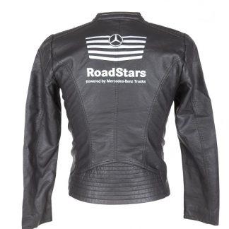 Damen Lederjacke Mercedes 'Road Stars'