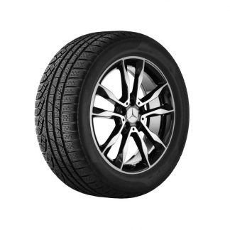 Mercedes-Benz geprüfte junge Räder, Winter, Satz 19 Zoll, GLA X156, 5-Doppelspeichen Design