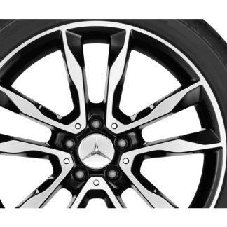 Mercedes-Benz 19 Zoll Alufelge, GLA X156, 5-Doppelspeichen Design