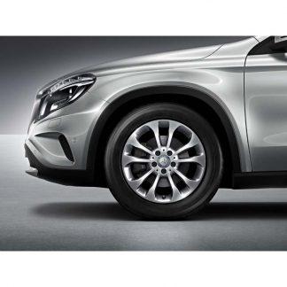 Mercedes-Benz 17 Zoll Sommerkompletträder Satz, GLA X156, 5-Doppelspeichen Design