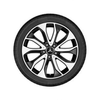 Alufelge Mercedes-Benz 18 Zoll, GLA X156, 5-Doppelspeichen Design