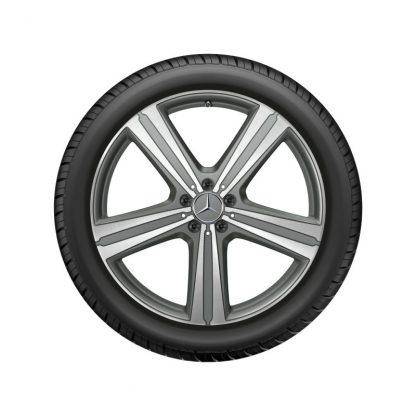 Alufelge Mercedes-Benz GLE 2019, 21 Zoll, 5-Speichen Design