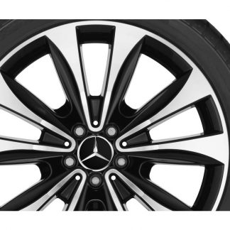 Alufelge Mercedes-Benz GLE V167, 20 Zoll, 10-Speichen Design, glanzgedreht