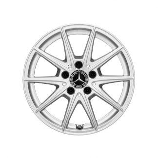 Alufelge Mercedes-Benz, 5-Speichen-Design, vanadiumsilber, C118, W177, W247, 17 Zoll