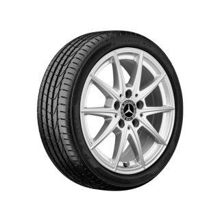 Mercedes-Benz Sommerkompletträder Satz, C118, W177, W247, 5-Doppelspeichen Design, 16 Zoll