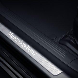 Mercedes-Benz Einstiegsleiste, beleuchtet, vorne, 2-fach. diverse Modelle