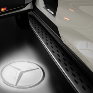 Mercedes-Benz LED Projektor, Mercedes Stern, 2-teilig, für diverse Modelle