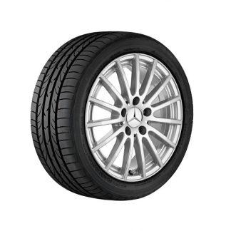 Mercedes-Benz Sommerkompletträder Satz, W205, A205, S205, C205, Vielspeichen-Design, 16 Zoll