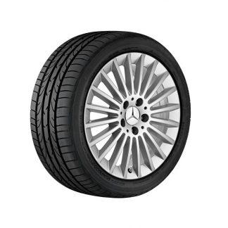 Mercedes-Benz Sommerkompletträder Satz, Vielspeichen-Design, A205, C205, S205, W205, 17 Zoll