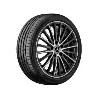 Mercedes-Benz Vielspeichen-Felge, glanzgedreht, C-Klasse, 17 Zoll