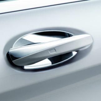 Mercedes-Benz Türgriffschalen, groß, 2-teilig hochglanzverchromt, diverse Modelle