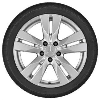 Mercedes-Benz Alufelge E-Klasse Cabrio, E-Klasse Coupé Hinterachse 17 Zoll, 5-Doppelspeichen Design