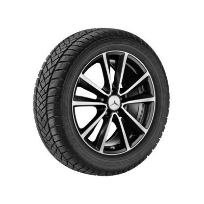 Mercedes-Benz Winterkompletträder Satz,  A-Klasse, B-Klasse, CLA, 18 Zoll, 5-Doppelspeichen-Design