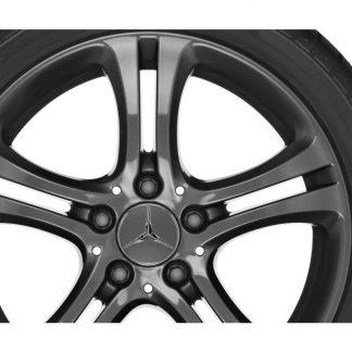 Alufelge Mercedes-Benz , A-Klasse, B-Klasse, CLA, 17 Zoll, 5-Doppelspeichen-Design