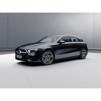 Mercedes-Benz A-Klasse W177, Modellauto kosmosschwarz, Maßstab 1:43