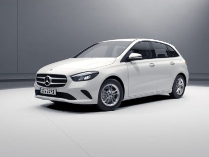 Mercedes-Benz B-Klasse, W247, Modellauto polarweiß, Maßstab 1:43