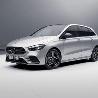Mercedes-Benz B-Klasse, W247, Modellauto iridiumsilber, Maßstab 1:18