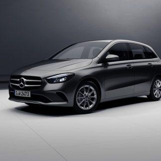 Mercedes-Benz B-Klasse, W247, Modellauto kosmosschwarz, Maßstab 1:18