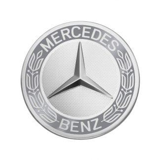 Mercedes-Benz Radnabenabdeckung, Stern mit Lorbeerkranz, klassisches Design