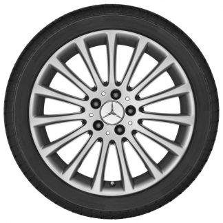 Mercedes-Benz 18 Zoll Alufelge, CLS, Vielspeichen Design, Hinterachse
