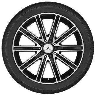 Mercedes-Benz 19 Zoll Alufelge, CLS, 10-Speichen Design, glanzgedreht