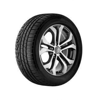 Alufelge 17 Zoll, Mercedes-Benz GLC, 5-Doppelpeichen Design