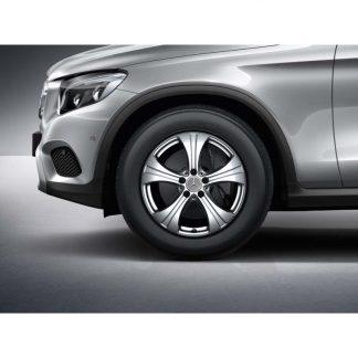 Alufelge 18 Zoll, Mercedes-Benz GLC, 5-Speichen Design